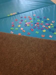 ABC foam letters
