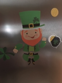 St Patrick Magnet picture