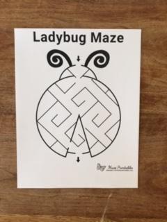 Ladybug Maze picture